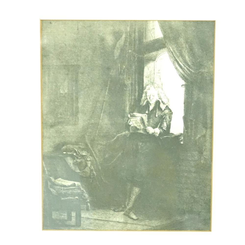 after: Rembrandt van Rijn Etching