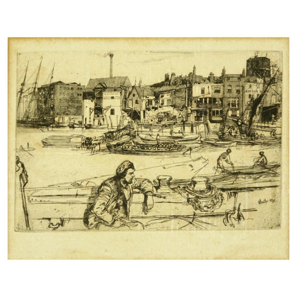 James Abbott McNeill Whistler Etching