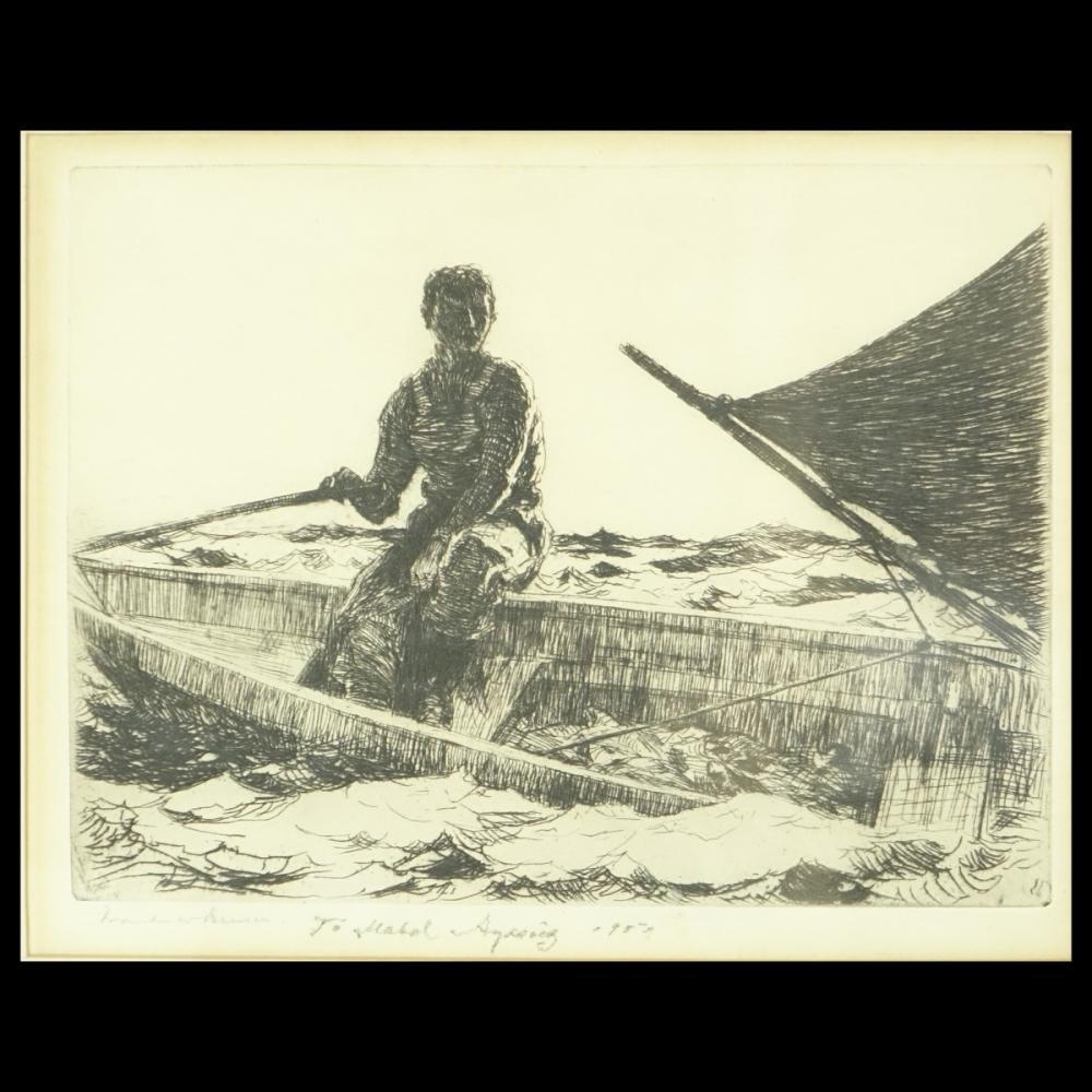 Frank Weston Benson (1862–1951) Etching