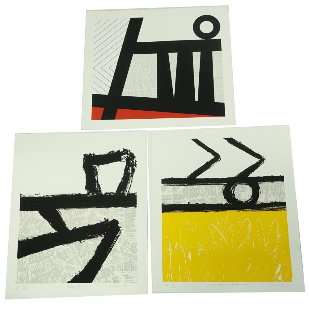Ray Elman (b. 1952) Serigraphs