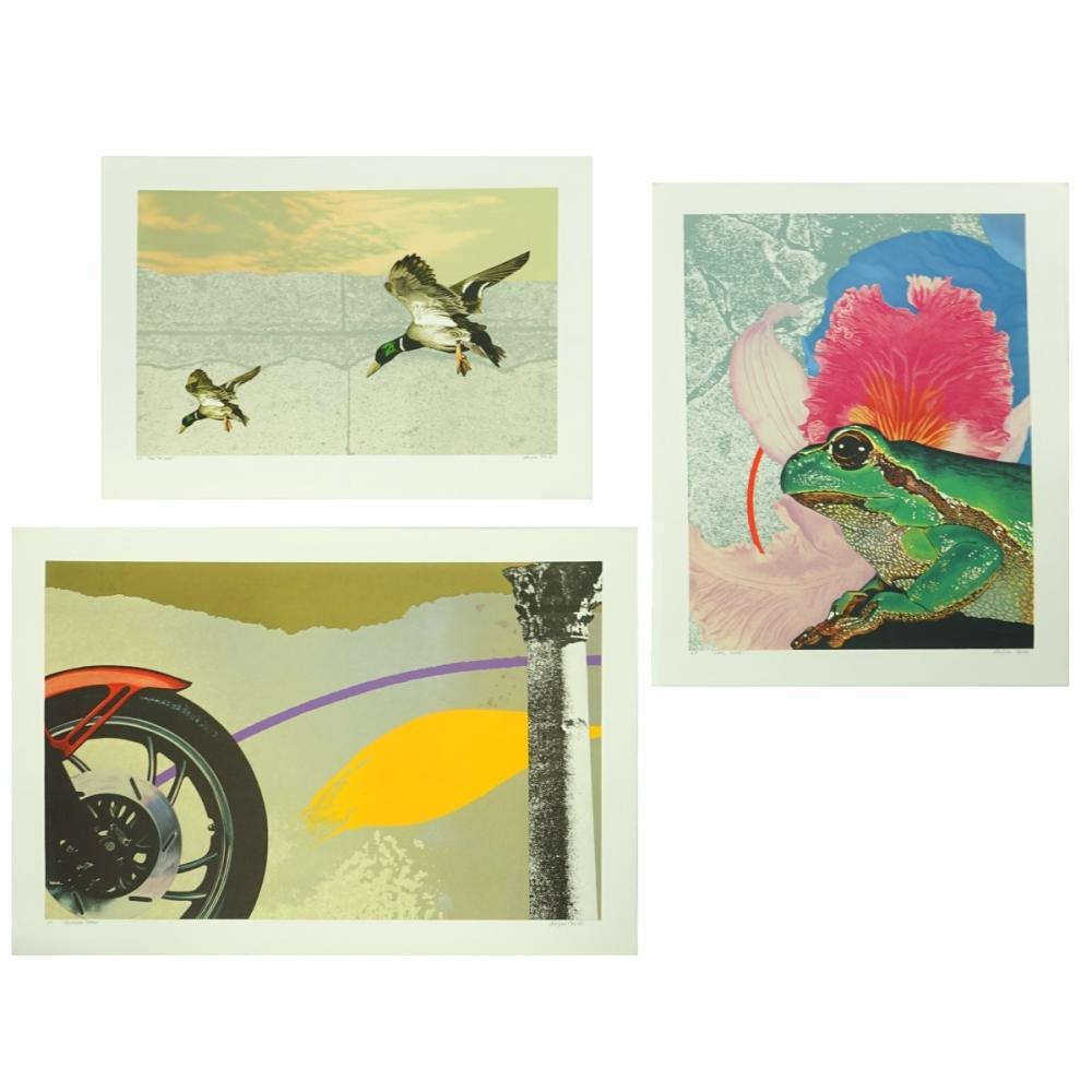 Michael Jay Knigin (1942-2011) Serigraphs