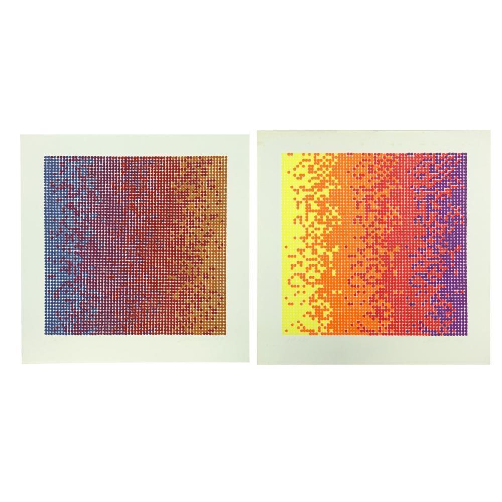 David Roth (b. 1942) Serigraphs