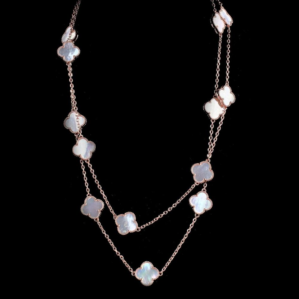 VCA style Mother of Pearl Necklace