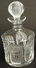 Lalique France Crystal Frosted and Clear Crystal