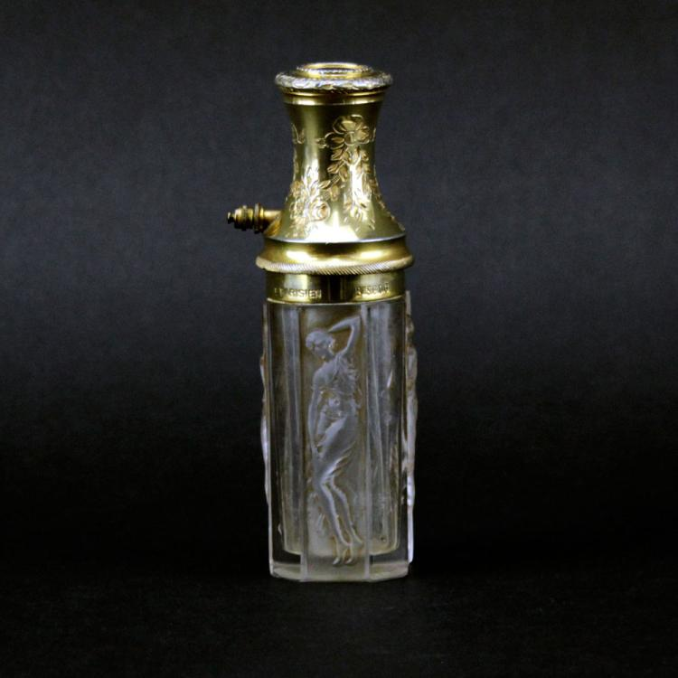 R. Lalique Parisien Figural Perfume Atomizer