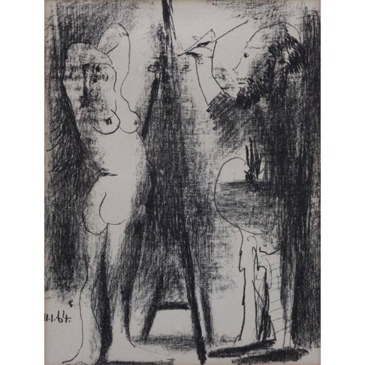 Pablo Picasso, Spanish (1881-1973) Original Lithograph,