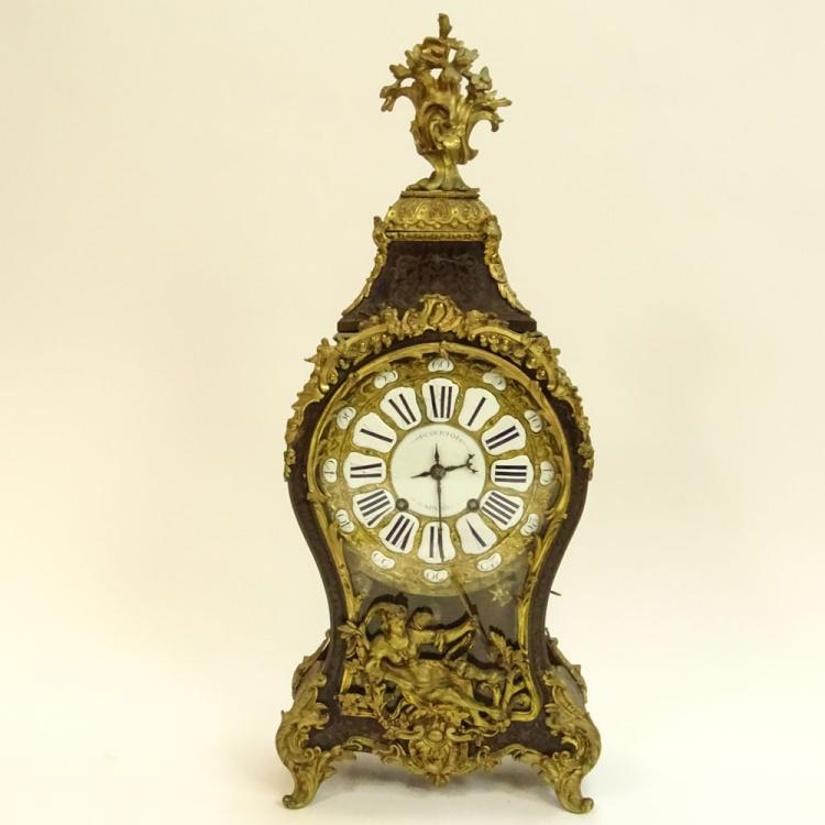 French 18th Century Bracket Clock