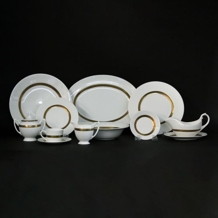 Fifty-Six (56) Piece Coalport