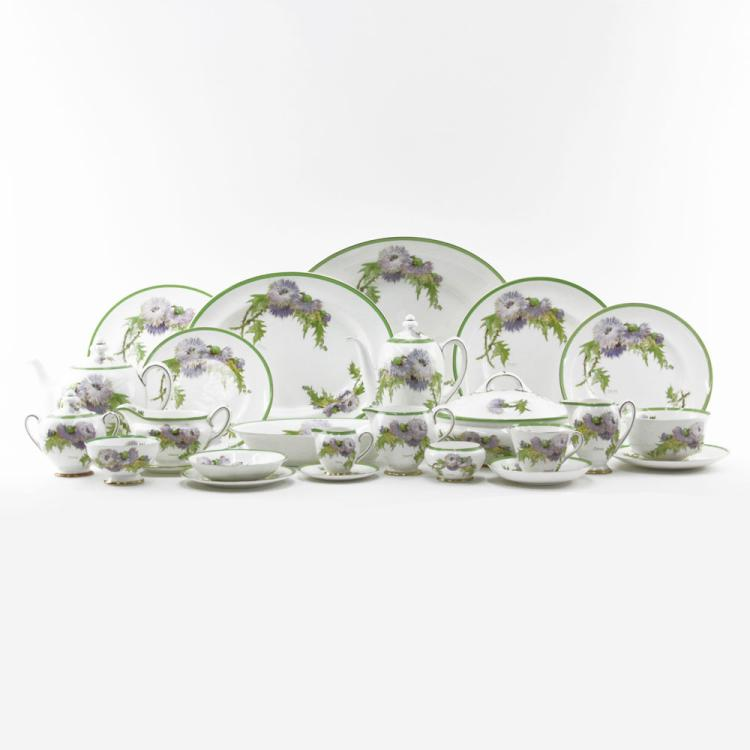 Hundred-Thirty (130) Piece Royal Doulton