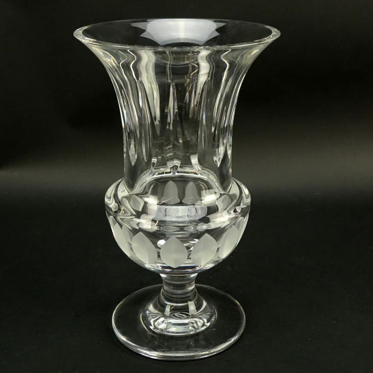 Cartier Crystal La Maison du Shogun Vase