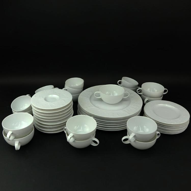 Forty Five (45) Piece Rosenthal - Continental Magic Flute Bjorn Winblad Porcelain Dinner Service