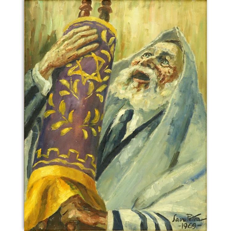 Savu Petra Dan, Romanian (1903-1986) Oil on canvas