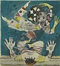 Alfred Finsterer German (1908-1996) Color Etching, Alfred Finsterer, Click for value