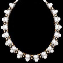 Approx. 10.0 Carat Round Brilliant Cut Diamond and 18 Karat White Gold Bracelet