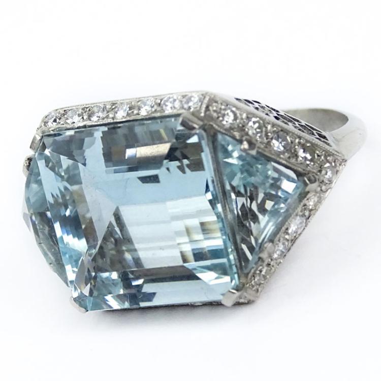Trillion Cut Diamond Ring Uk