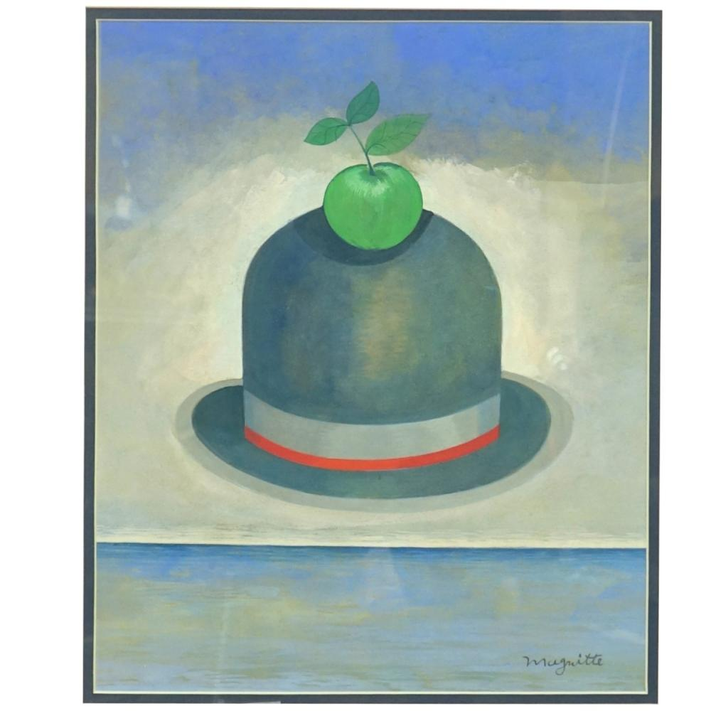 After: Rene Magritte Goauche
