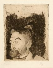 Paul Gauguin: Portrait de Stéphane Mallarmé