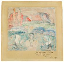Paul Gauguin: L'Angelus en Bretagne