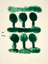 Dieter Roth: Bäume. - Abfallmischung