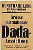 *DADA BERLIN Berlin 1920 Grosse internationale Dada-Ausstellung - Kunsthandlung Dr. Otto Burchard, Daniel Dávila Helmer, Click for value