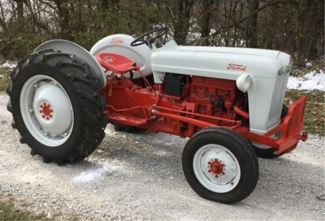 Ford Tractor Airplane : Restored ford tractor