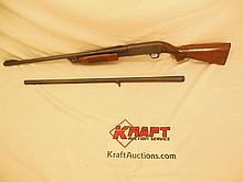 Ithaca Feather Light Model 37 12ga shotgun, two barrels, SN 371470422
