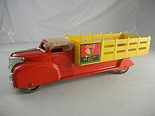 1953 Marx Coca-Cola Truck #991 20-1/2