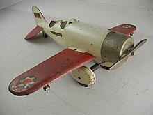 Vintage Lockheed Sirius Steel Airplane 21