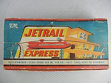 Vintage Northrop Products Jetrail Express Battery Operated Set In Box