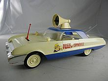 1963 Ideal Battery Operated Dick Tracy Copmobile 24