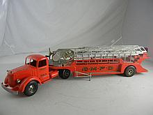 Vintage Smith Miller Mack SMFD #3 Ladder Fire Truck 35