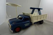 Vintage Structo Ride-Er-Wrecker Steel Toy 20