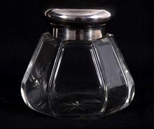 Fancy Dresser Jar With Glass Insert
