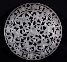 Webster's Sterling Silver Plate Warmer