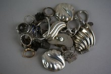 Mixed Lot of Sterling Silver Items 6.04 Troy Ounces