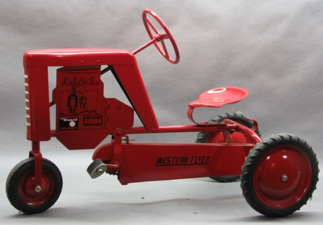 Tractor Chain Drive : Wizard western flyer chain drive pedal tractor