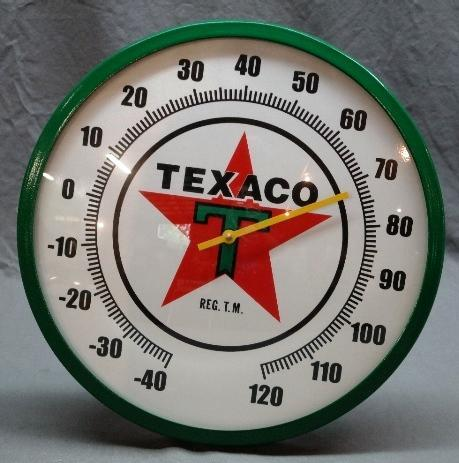Texaco Gasoline Fantasy Thermometer- NIB