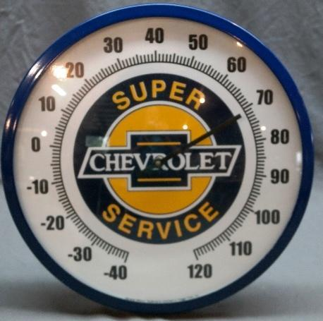 Chevrolet Super Service Fantasy Thermometer- NIB-Licensed