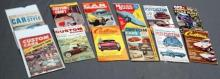 Lot of 12 1950s Hot Rod and Custom Car Magazines