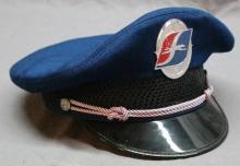 Greyhound Uniform Hat with Braids and Badge