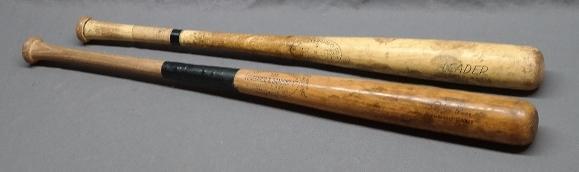 Lot of 2 Vintage Baseball Bats-Roger Maris & Pete Rose