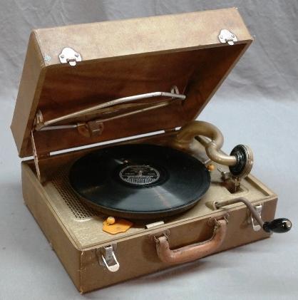 Portable RCA Victor Portable Victrola in Case