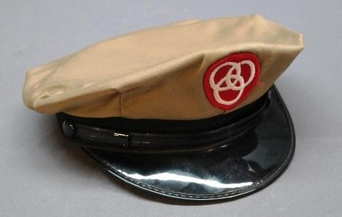 Vintage Uniform Cap/Hat with Ballantine Bear Patch