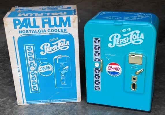Paul Flum Pepsi Nostalgia Cooler in Original Box