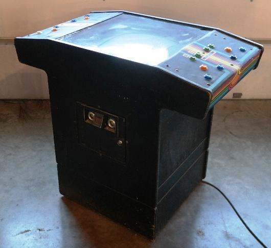 2 Person Atari Video Game Freestanding Unit.