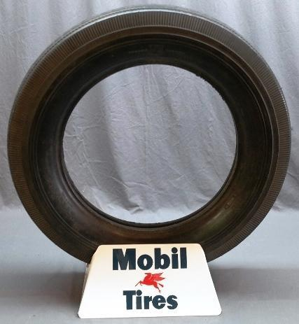 Mobil Tires Display Stand with Mobil Tire