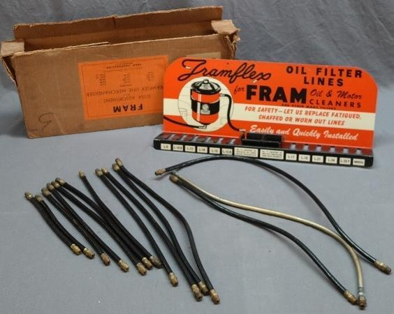 Fram Framflex Line Merchandiser Parts Service Display with Original Shipping Box