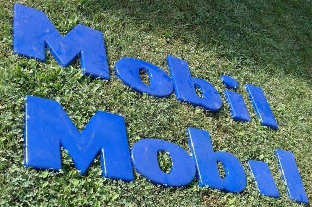 14 inch Mobil Plastic Letters