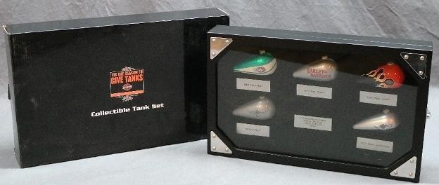 Harley Davidson Collectible Tank Set in Original Box