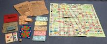 Lot of 2 Pontiac Safety Drive Games 1937/1938